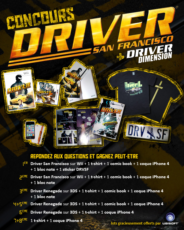 Concours Driver San Francisco