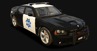 Dodge Charger SRT8 Cop