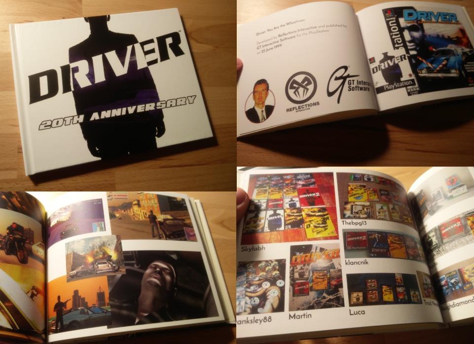 Driver anniversary book