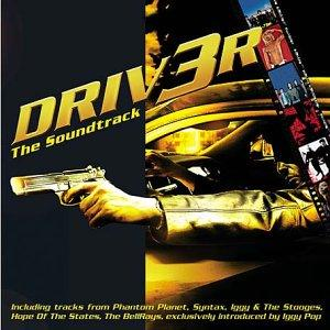 Pochette du CD de Driv3r original soundtrack