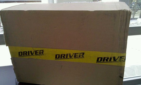 Driver San Francisco GOODIES haha!